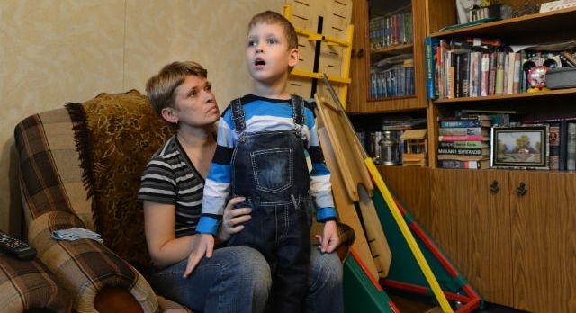 Игорь Чикинов с мамой